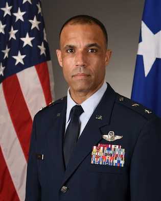 This is the official portrait of Maj. Gen. Adrian L. Spain.