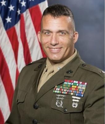 "LtCol DG ""Lucky"" Cuccio, USMC"