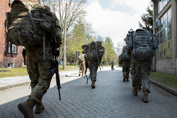 U.S. and Poland continue heritage of rapidly moving troops, ammunition for combat readiness