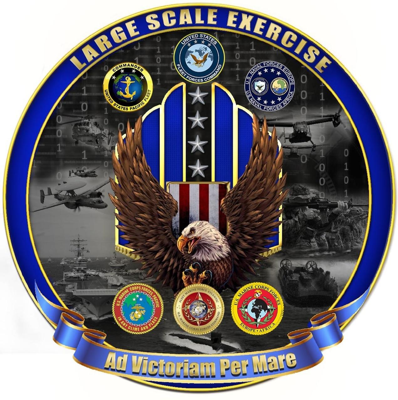 Large Scale Exercise 2021 logo