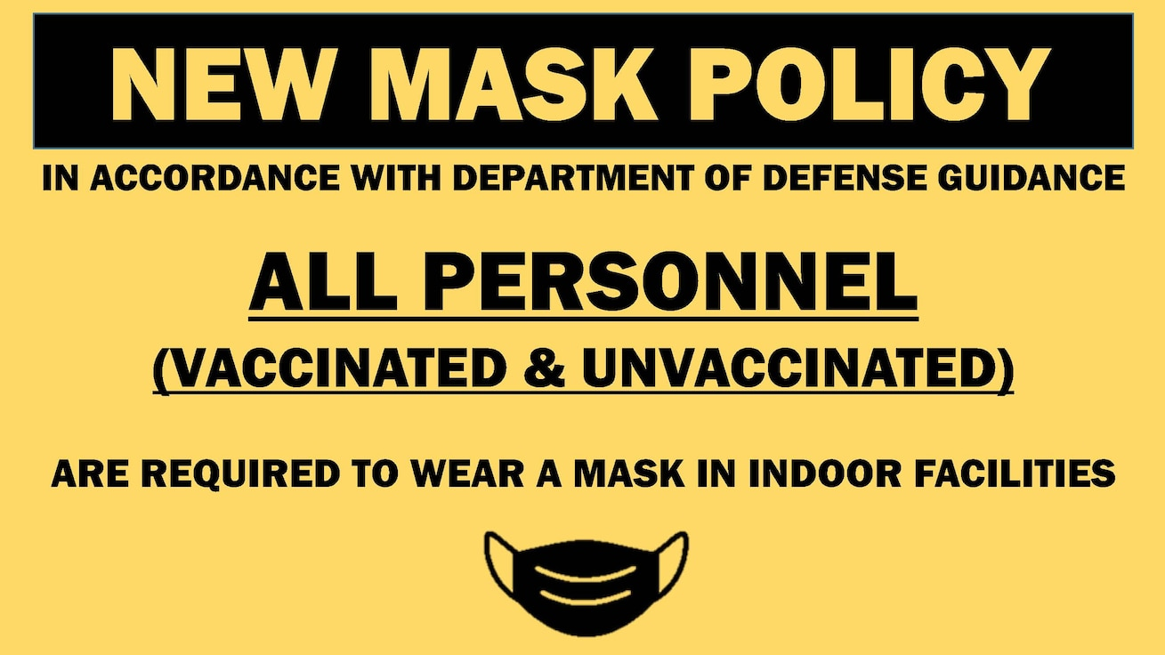 New Mask Policy