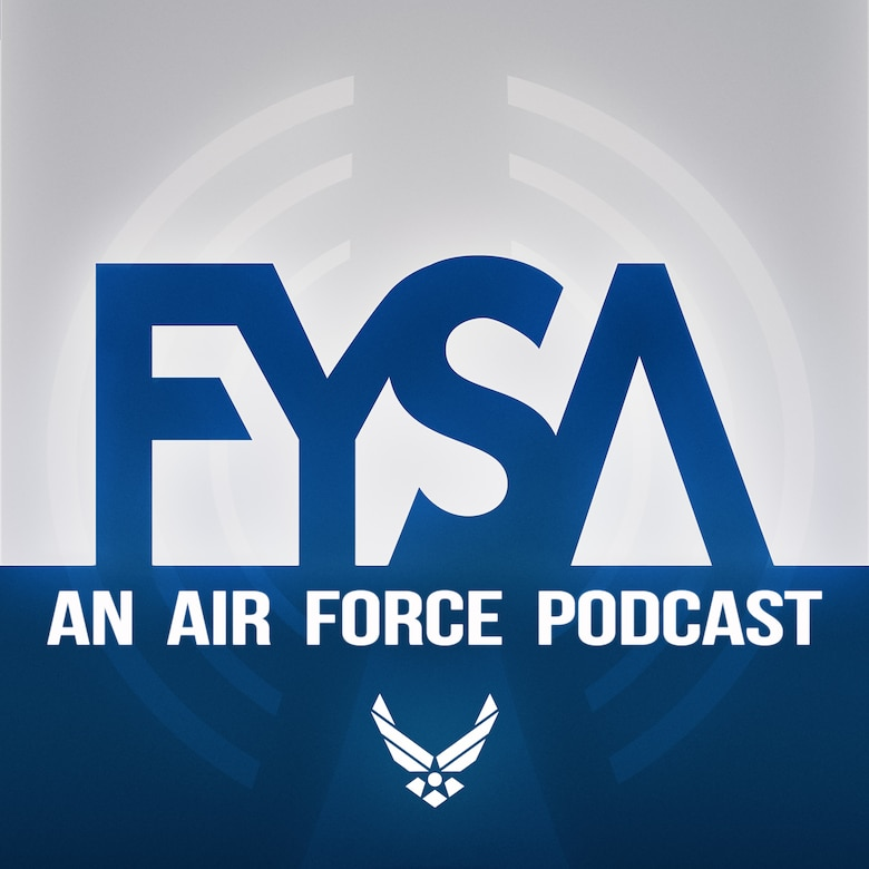 Graphic for the FYSA podcast