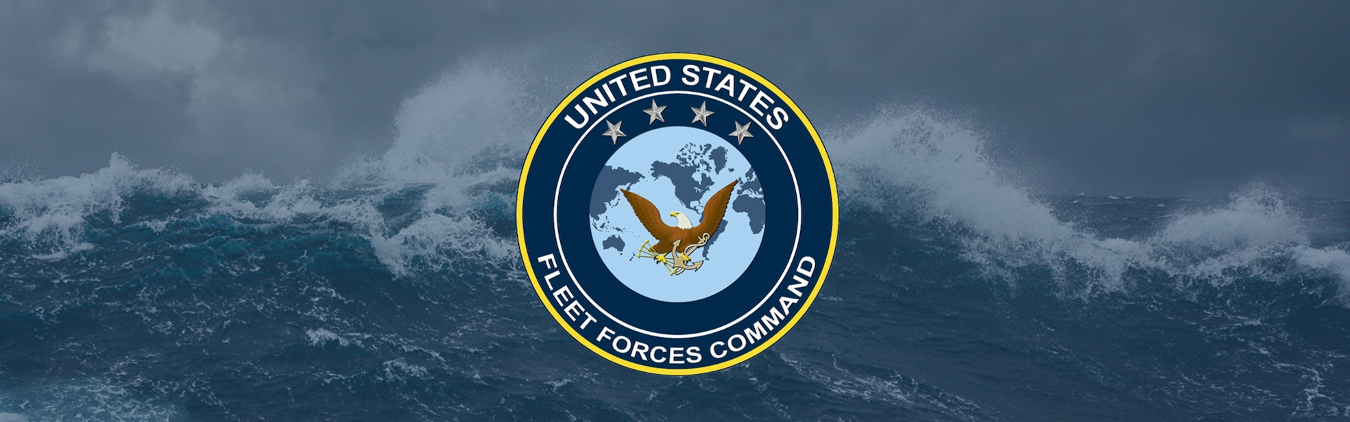 Banner for U.S. Fleet Forces Command webpage.