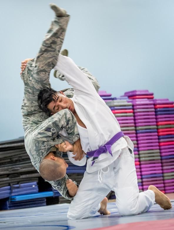 Jiu-Jitsu Throw