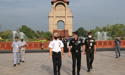 U.S. Special Operations Command Leadership Visits India.