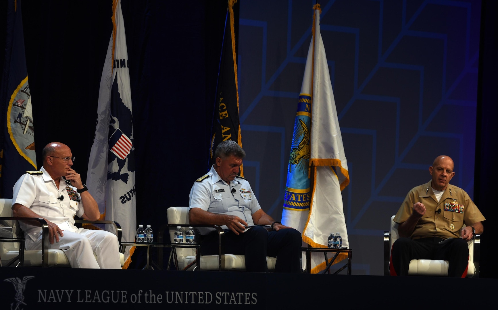 Leaders Discuss Tri-Service Maritime Strategy to Deterring Conflict