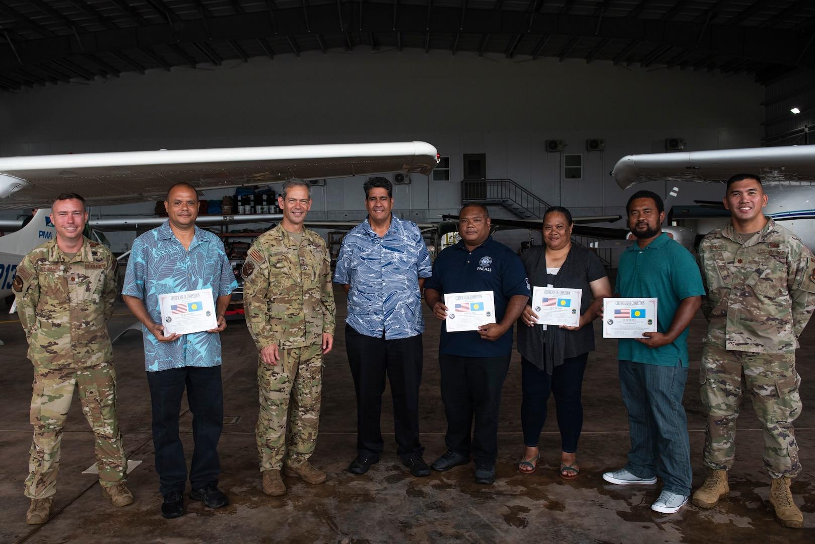 Pacific Air Forces Commander visits Palau