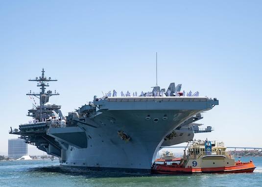 Carl Vinson Carrier Strike Group departs on deployment