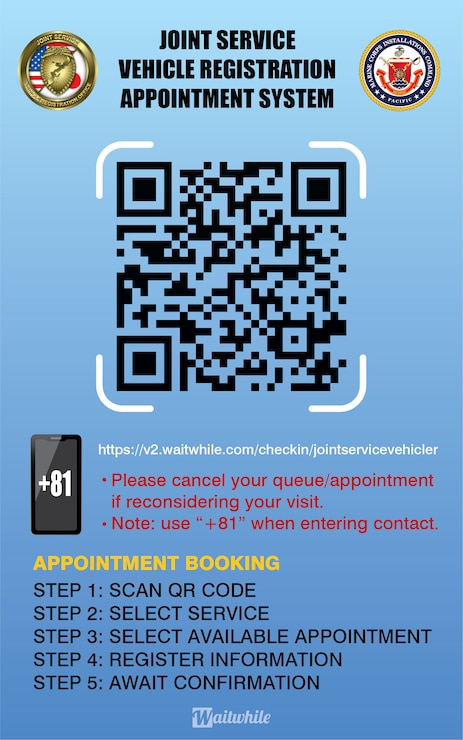 Book your appointment for registration, GOJ final inspection, or other services today.