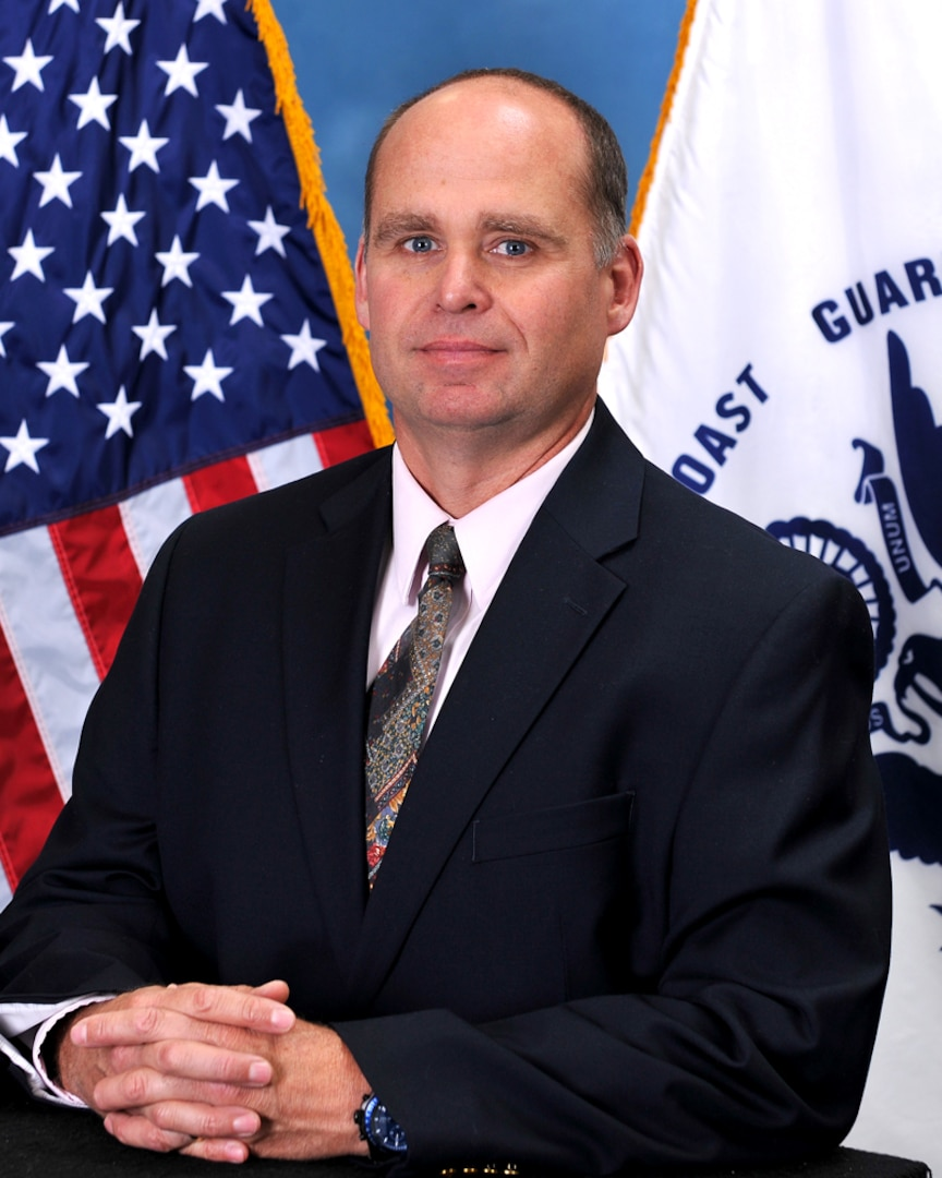 Paul Zeigengeist began his role as Equal Employment Opportunity Specialist for the Civil Rights Directorate in 2012, as shown here that spring. Coast Guard photo