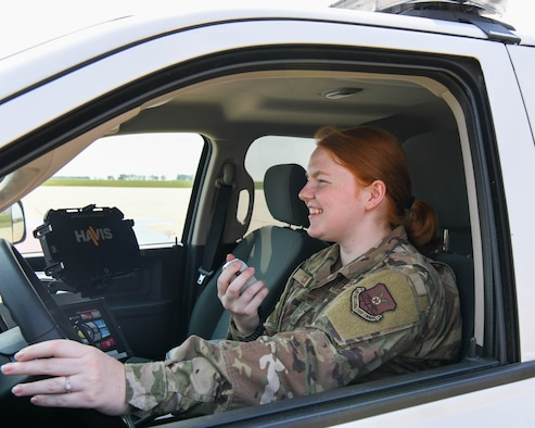 Airman 1st Class Jordan Clark is Airfield Management for the 5th Operations Support Squadron at Minot Air Force Base, North Dakota.