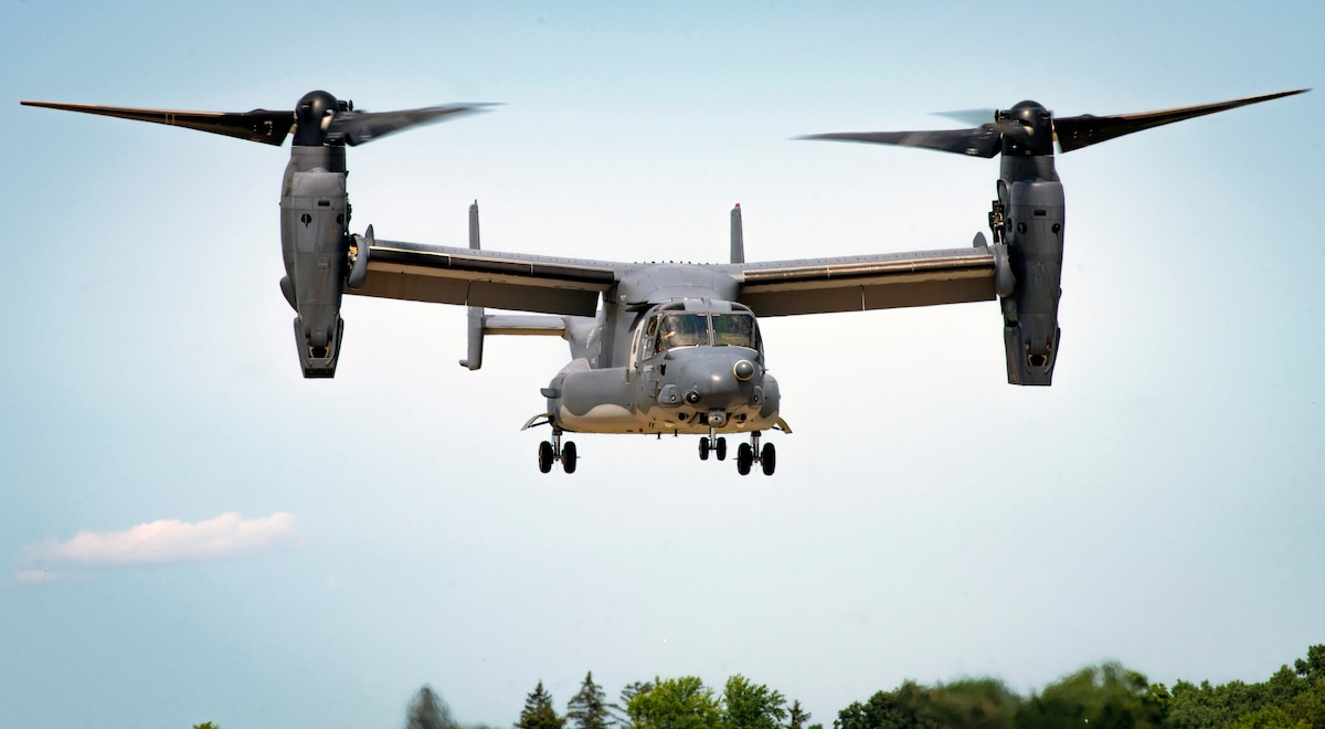 CV-22 Osprey aerial demonstration