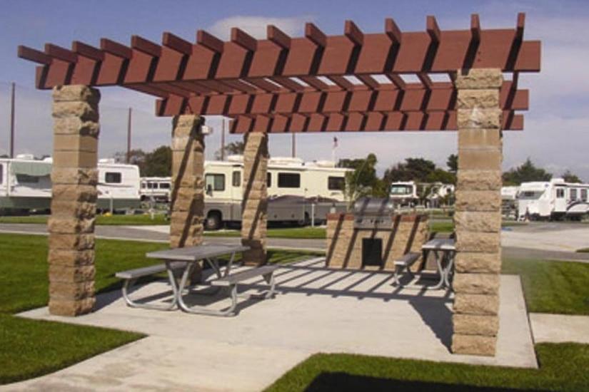 Campground shown.