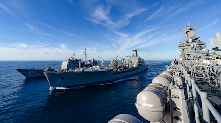 Military Sealift Command supports U.S. Navy's Large Scale Exercise 2021