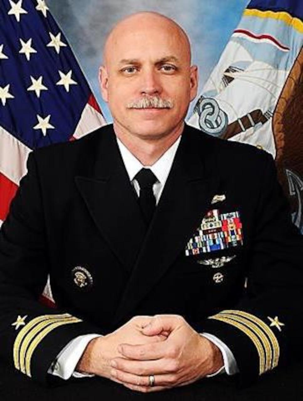 Commander Erik S. Roberts