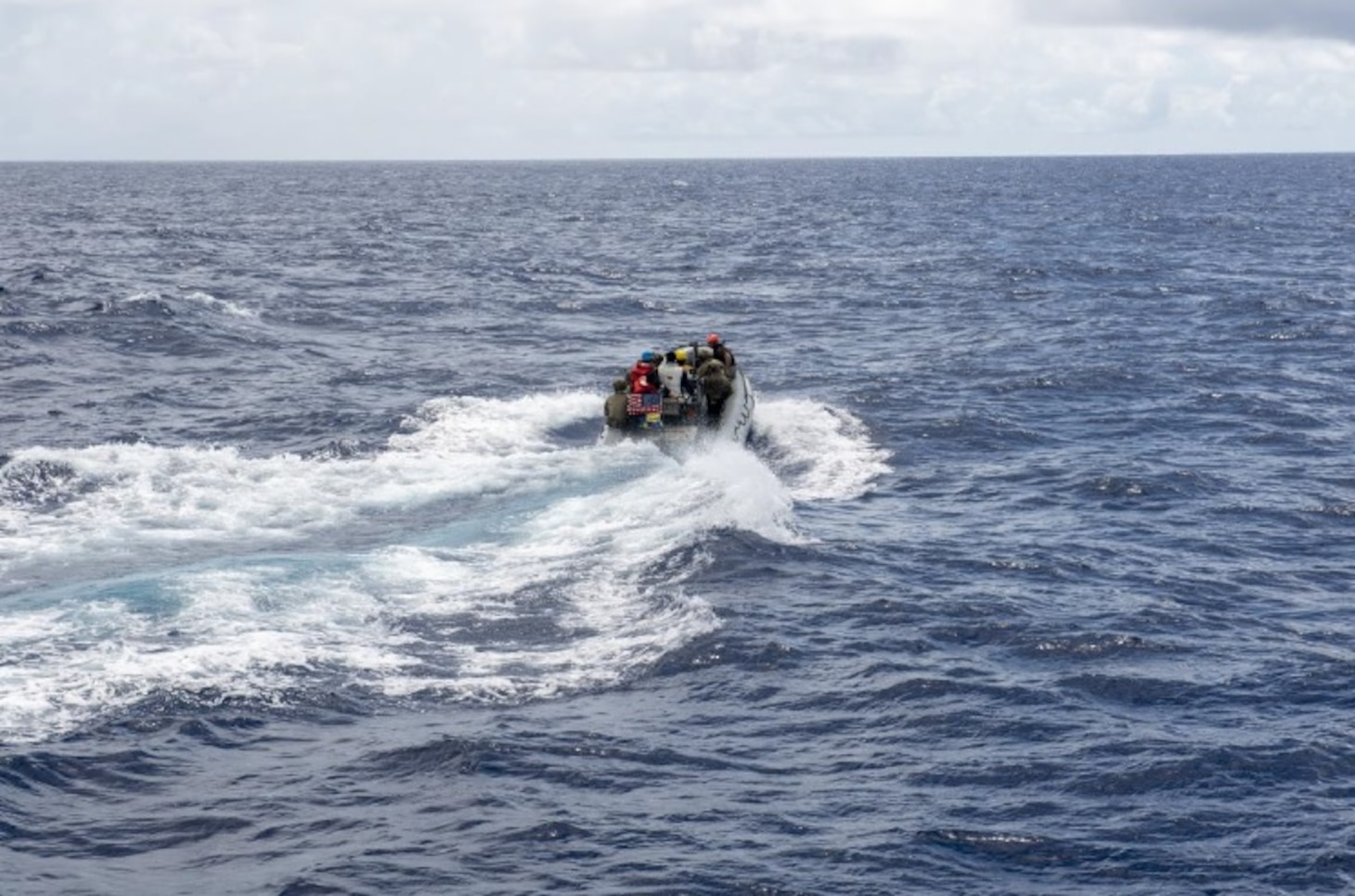 Navy, Coast Guard Begin Oceania Maritime Security Initiative Patrol