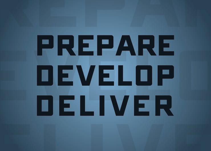 STARCOM Priorities - Prepare, Develop, Deliver