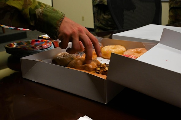 'Donuts and Development' session treats supervisors to manpower knowledge