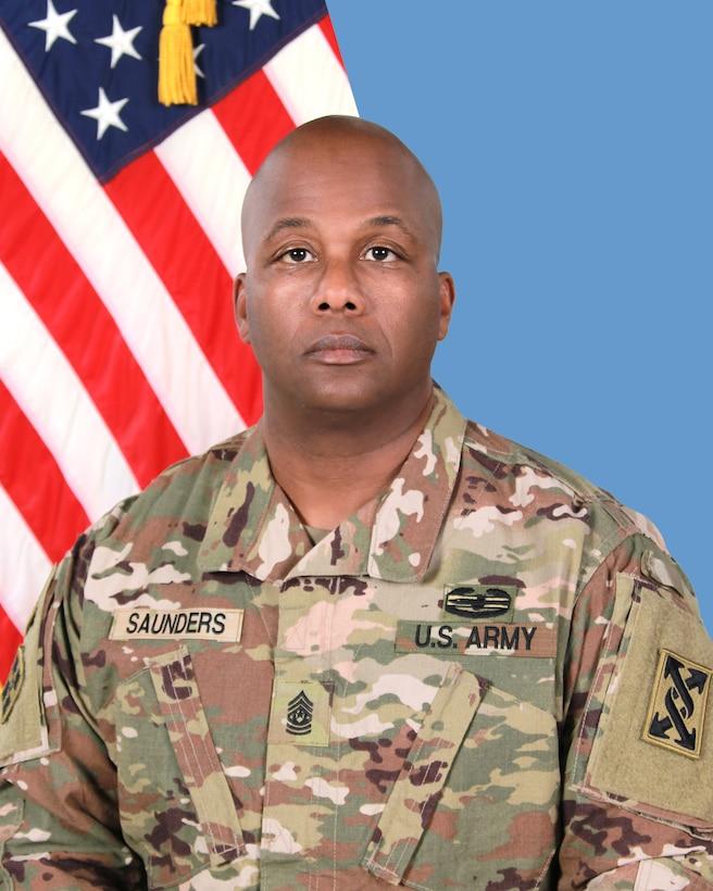 Command Sergeant Major Ricardo M. Saunders