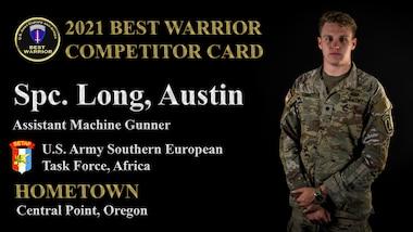 Spc. Austin Long