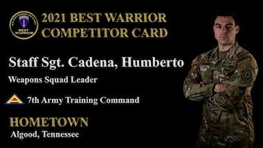 Staff Sgt. Humberto Cadena