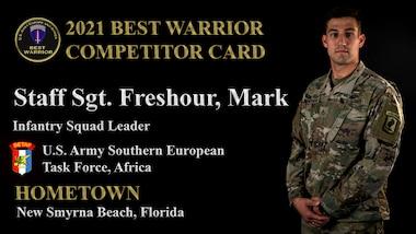 Staff Sgt. Mark Freshour
