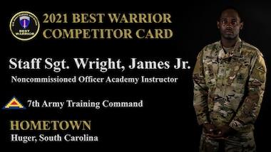 Staff Sgt. James Wright Jr.
