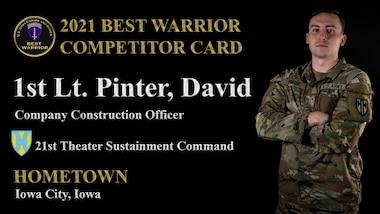 2nd Lt. David Pinter