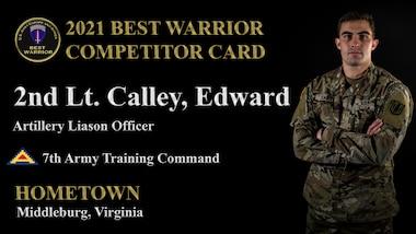 2nd Lt. Edward Calley