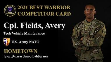 Cpl. Avery Fields