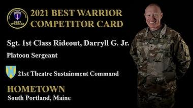 Sgt. 1st Class Daryll G. Rideout Jr.