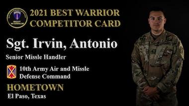 Sgt. Antonio Irvin