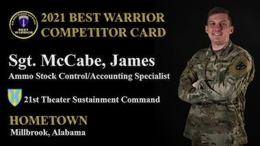 Sgt. James McCabe