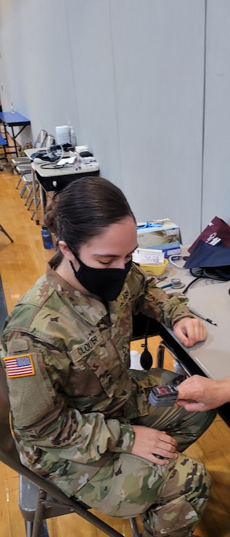 The ability to engage with the community has been phenomenal. Several of us are fresh out of AIT and this is our first military mission; helping real people with real needs. It makes you feel like you deserve the status of soldier/airman/seaman.