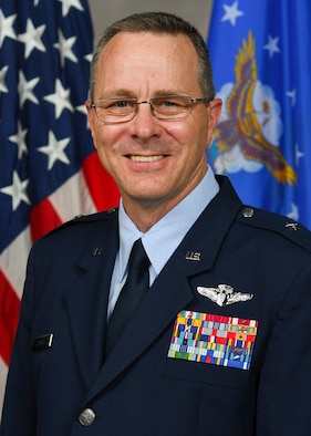 Brig. Gen. Andrus official biography photo