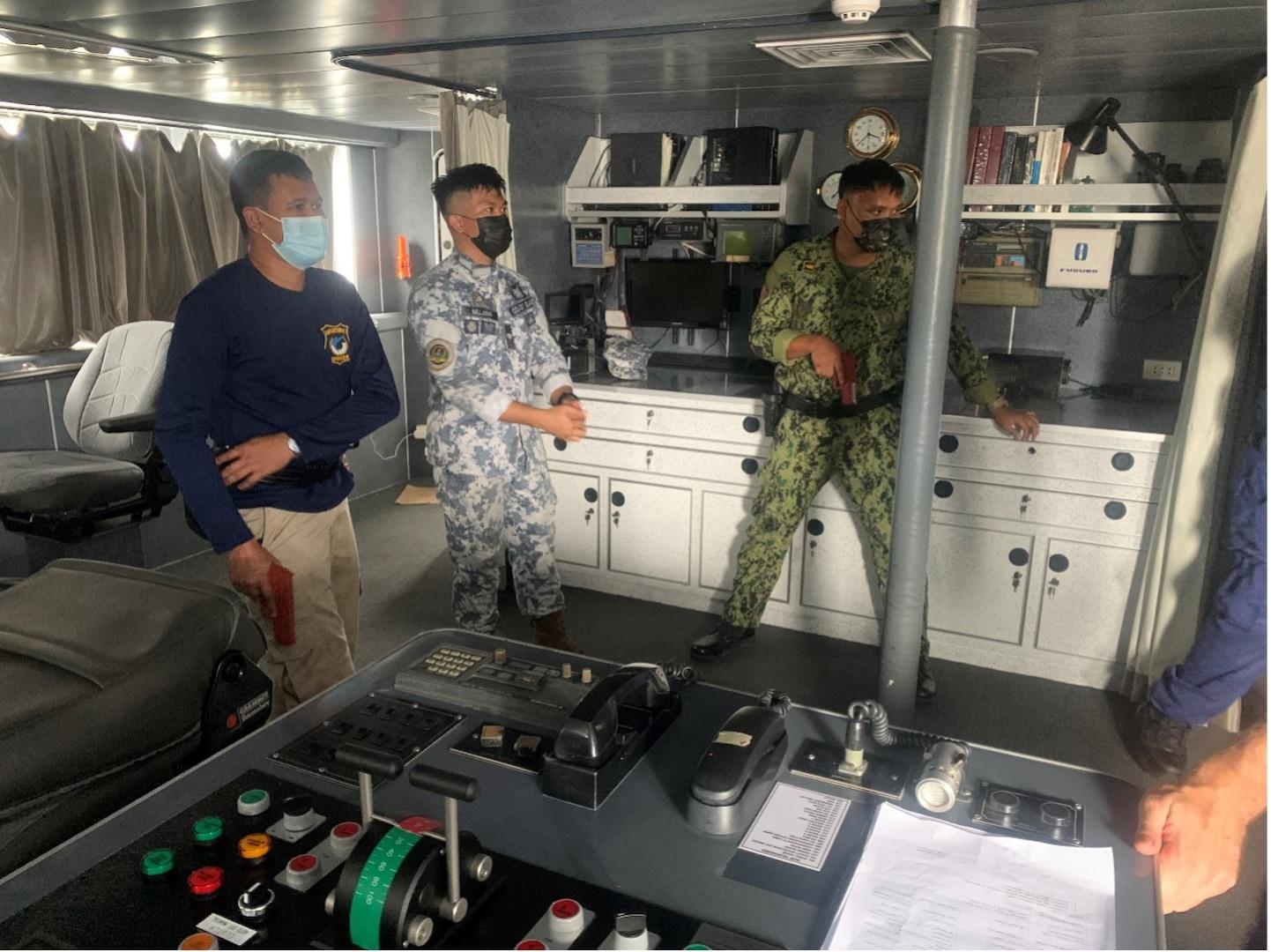 U.S.-Philippine Joint Training Enhances Philippine Maritime Law Enforcement Capabilities