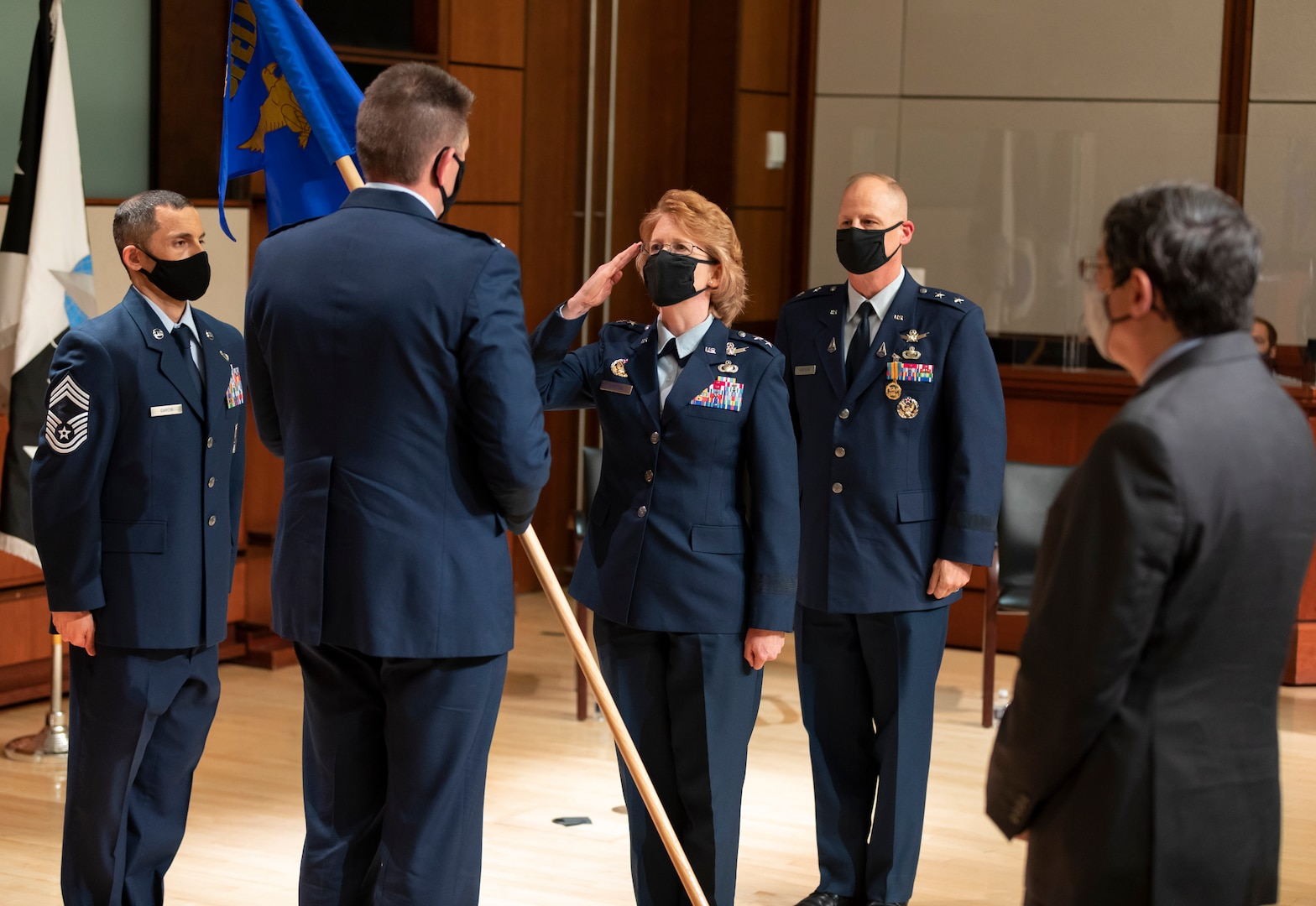 NRO welcomes new deputy director, Maj. Gen. Donna Shipton