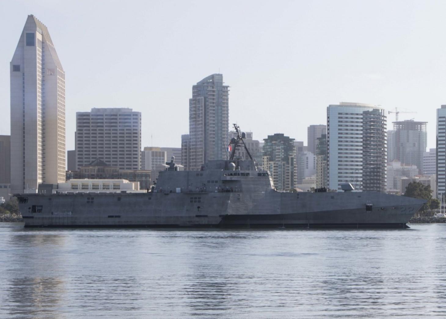 PCU Kansas City arrives in San Diego