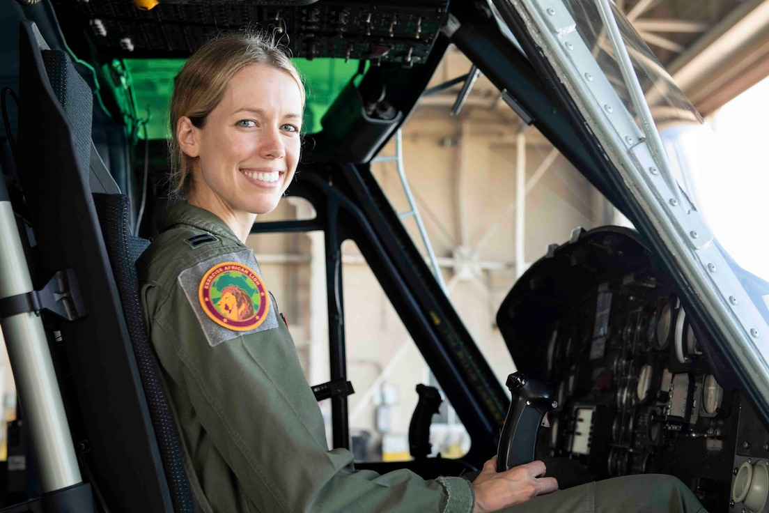 459th AS pilot exchanges aircraft for words