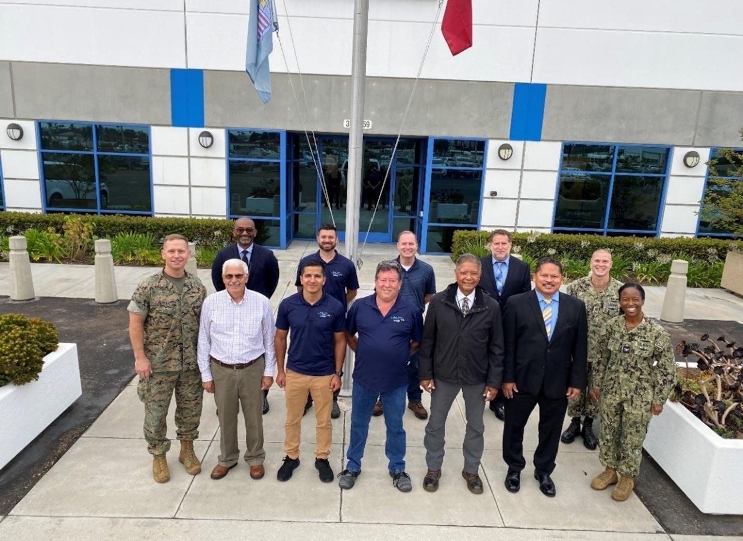 DLA Distribution San Diego hosts Distribution's Commanding General