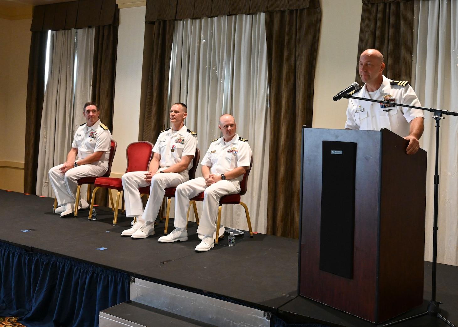 NAVSAFENVTRACEN Change of Command