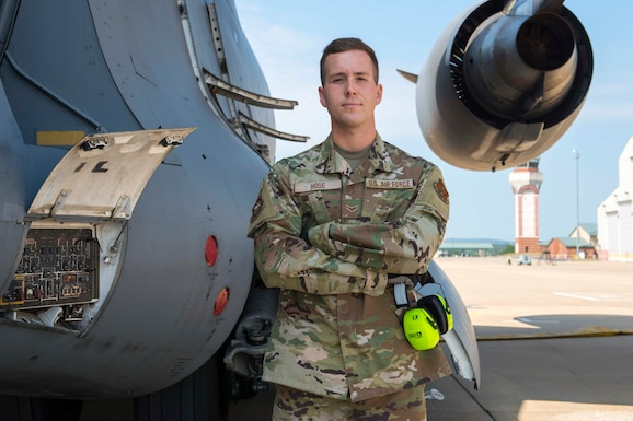 Senior Airman Ian Hose is an aircraft fuels systems specialist for the 167th Maintenance Squadron and the 167th Airlift Wing Airman Spotlight for August 2021
