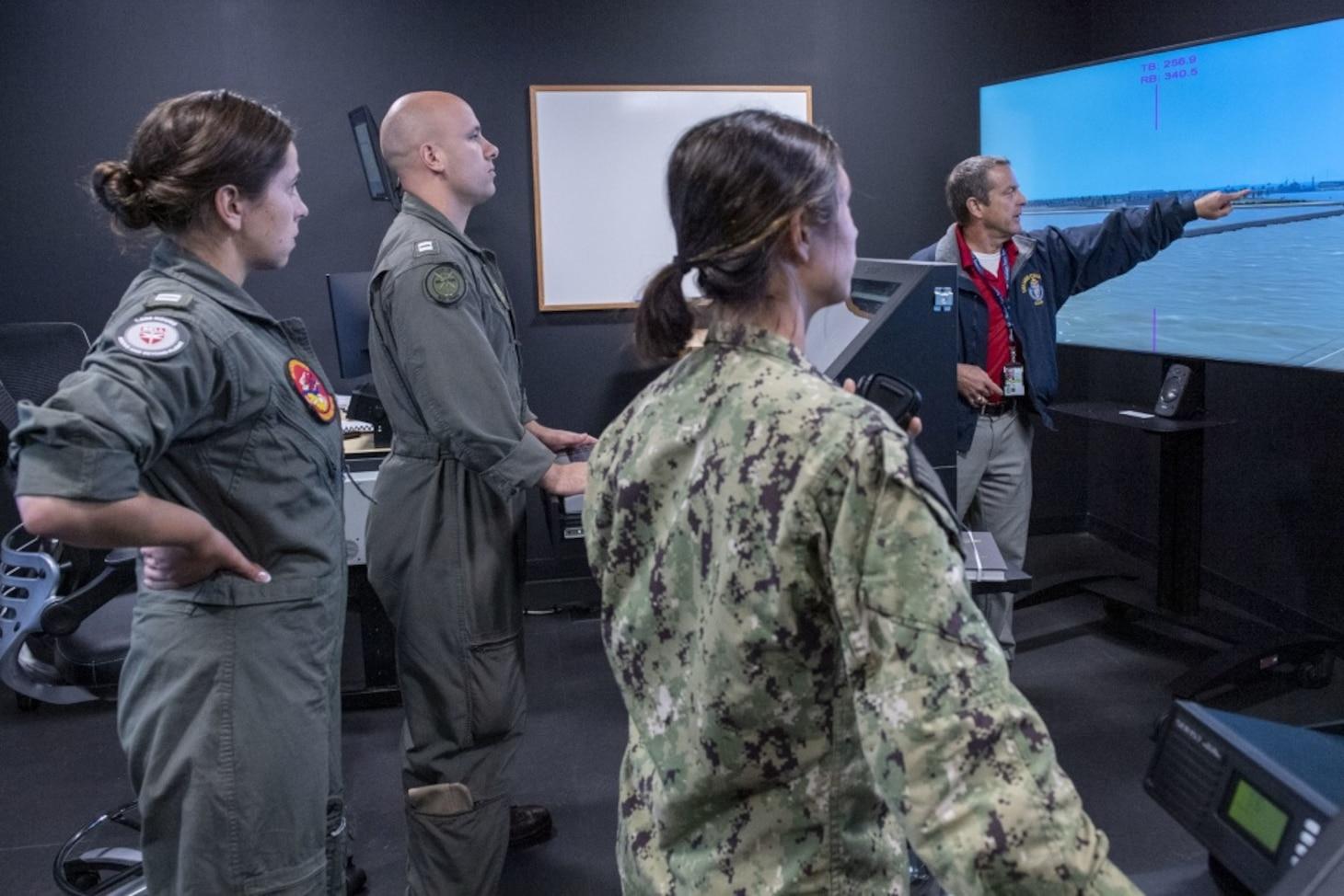 Mariner Skills Training Center, Pacific Tour