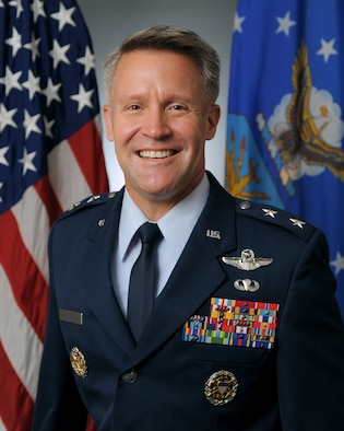 This is the official portrait of Maj. Gen. Daniel H. Tulley.