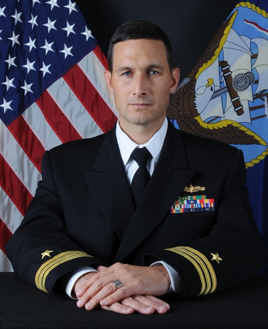 Commander Brandon Booher