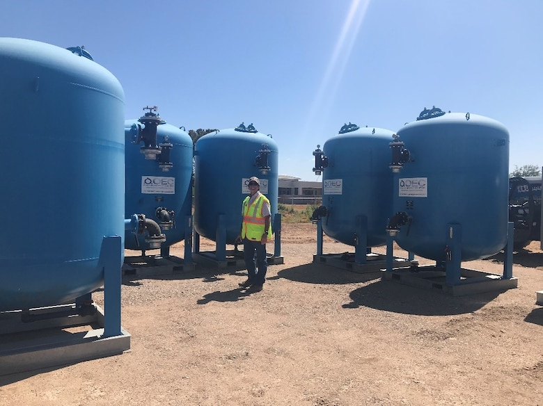 Air Force installs system to protect drinking water near Luke AFB