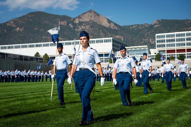 USAFA Acceptance Day Parade