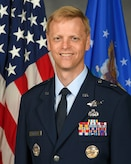 Official portrait of Brig. Gen. Luke C.G. Cropsey. (U.S. Air Force photo/Richard Oriez).