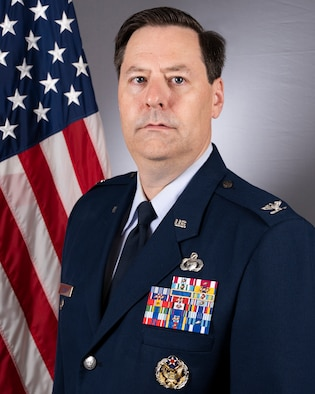 Official biography photo for Colonel John Thorne.