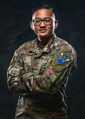 SrA Christopher Thao Poses for a photo